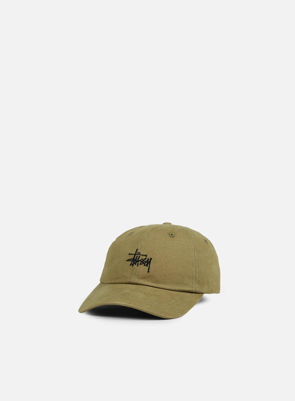STUSSY - Basic Logo Low Pro Cap, Olive € 34,00