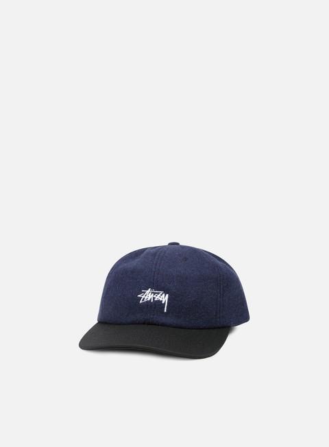 cappellini stussy ist wool strapback navy