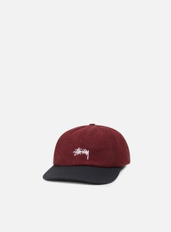 Stussy - IST Wool Strapback, Red 1
