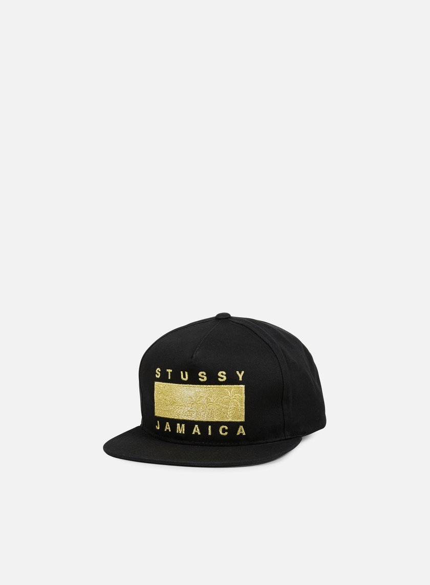 Stussy - Jamaica Resort Snapback, Black