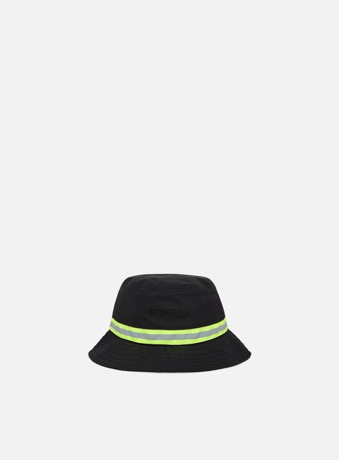 Cappellini Bucket Stussy Reflective Tape Bucket Hat