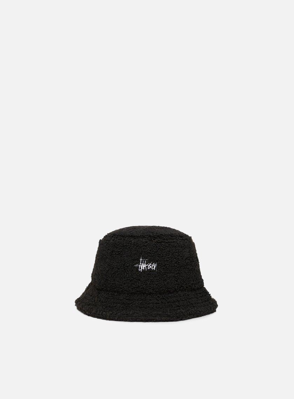 4219834dae2 STUSSY Sherpa Fleece Bucket Hat € 49 Bucket Hat
