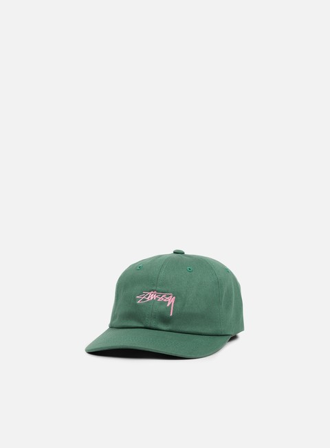 cappellini stussy smooth stock low cap green