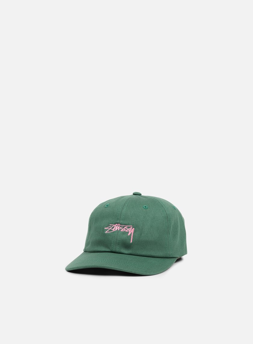 Stussy - Smooth Stock Low Cap, Green