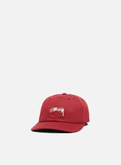 Stussy - Smooth Stock Low Cap, Red