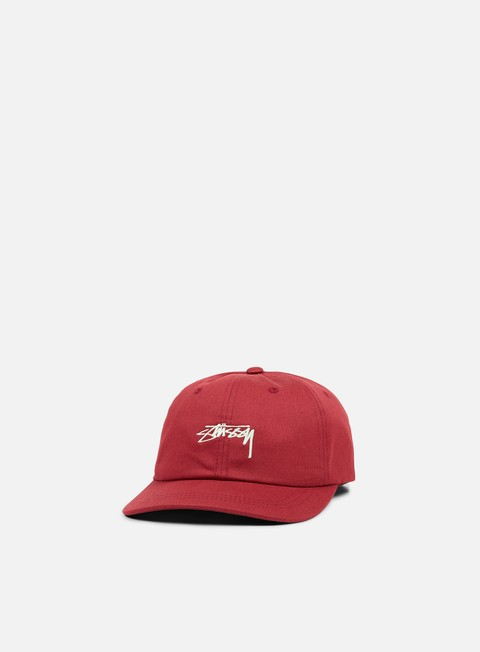 Curved Brim Caps Stussy Smooth Stock Low Cap