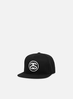 Stussy - SS Link Snapback, Black/White 1