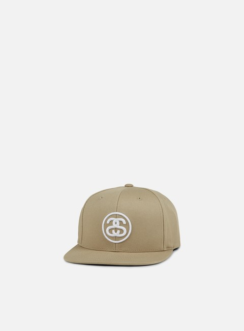 cappellini stussy ss link snapback khaki