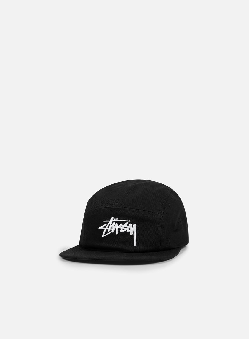 Stussy - Stock Camp Cap, Black