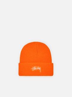 Stussy - Stock Cuff Beanie, Blaze Orange