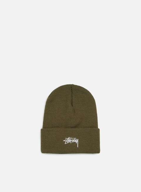 cappellini stussy stock fa 17 cuff beanie olive