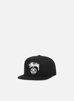 Stussy - Stock Lock Snapback, Black/White