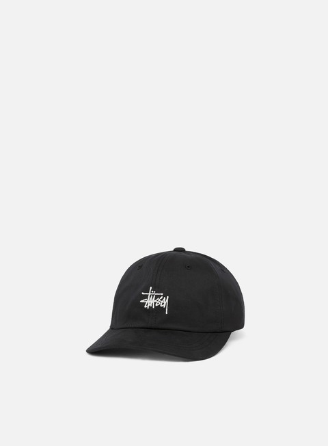 cappellini stussy stock low pro cap black