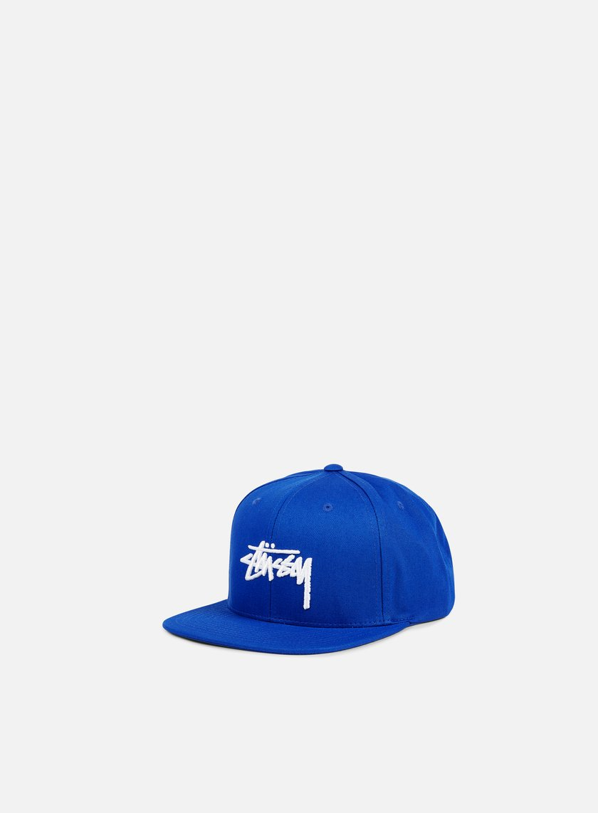 Stussy - Stock Snapback, Royal Blue/White