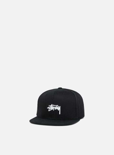 cappellini stussy stock su 18 snapback black