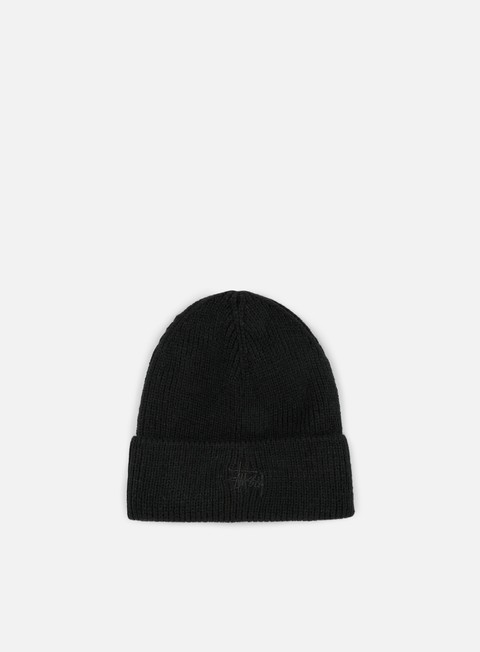 cappellini stussy tonal basic cuff beanie black