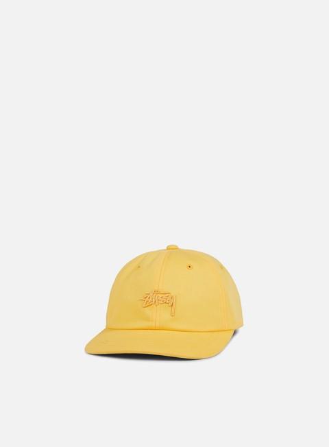 cappellini stussy tonal stock strapback yellow