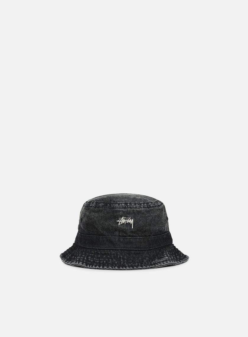 6f2d3f12be1 STUSSY Washed Denim Bucket Hat € 49 Bucket Hat