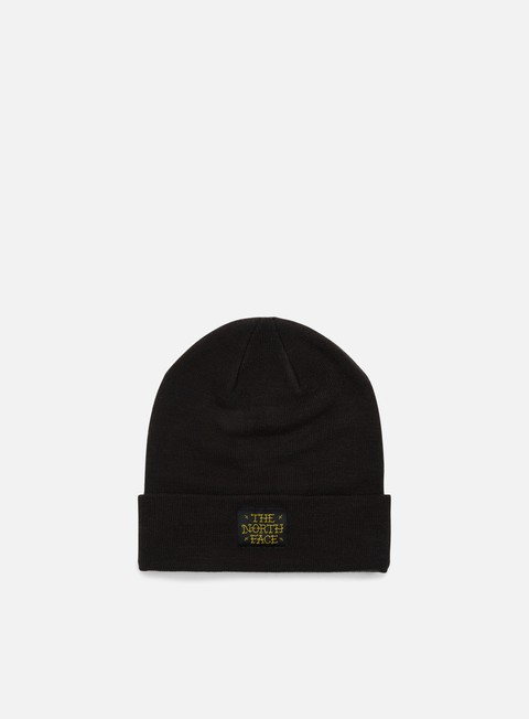 cappellini the north face dock worker beanie tnf black arrowwood yellow