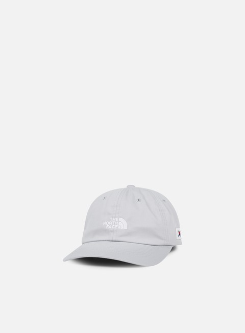 cappellini the north face international ball cap high rise grey