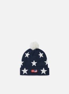 The North Face - International Ski Tuke Beanie, Cosmic Blue/Star Print 1