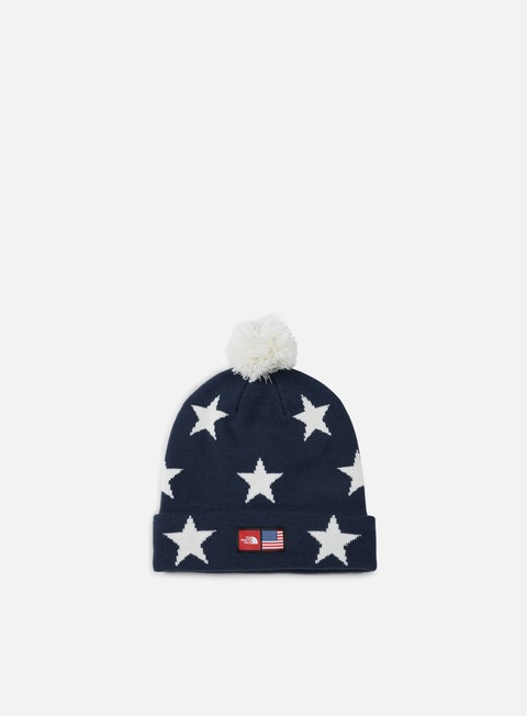 cappellini the north face international ski tuke beanie cosmic blue star print