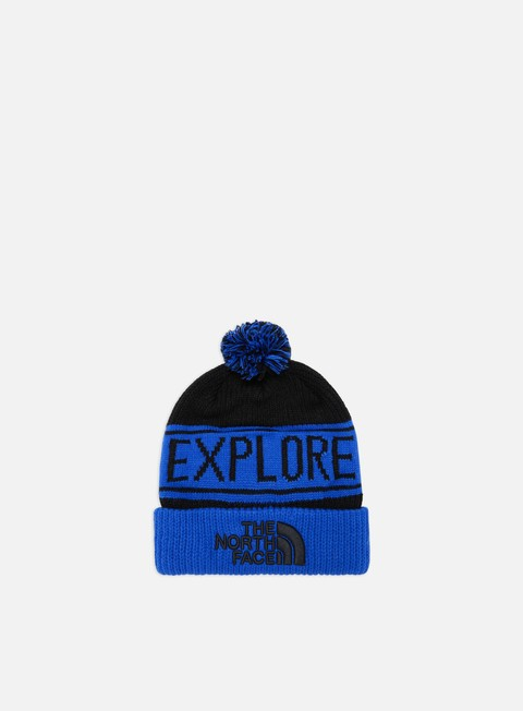 Cuffie The North Face Retro TNF Pom Beanie