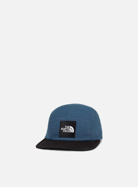 cappellini the north face tnf five panel cap blue wing teal tnf black