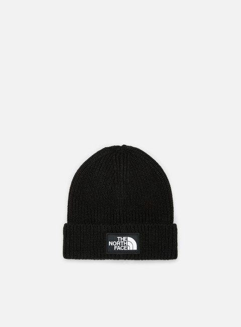 cappellini the north face tnf logo box cuffed beanie tnf black