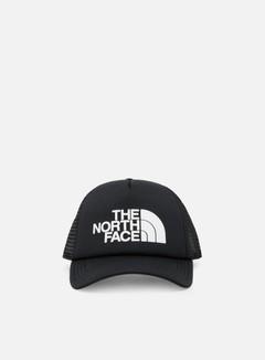 The North Face - TNF Logo Trucker Hat, TNF Black/TNF White