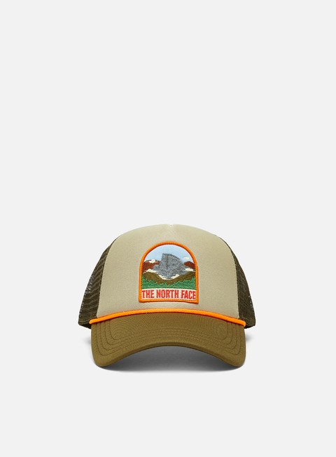 Curved Brim Caps The North Face Valley Trucker Hat