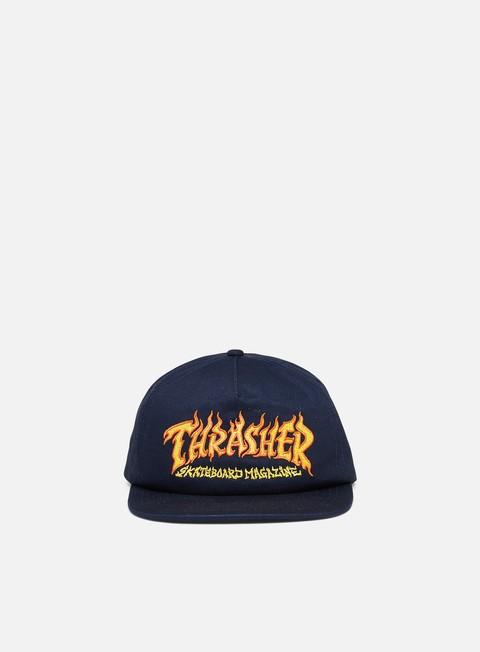 Snapback Caps Thrasher Fire Logo Snapback