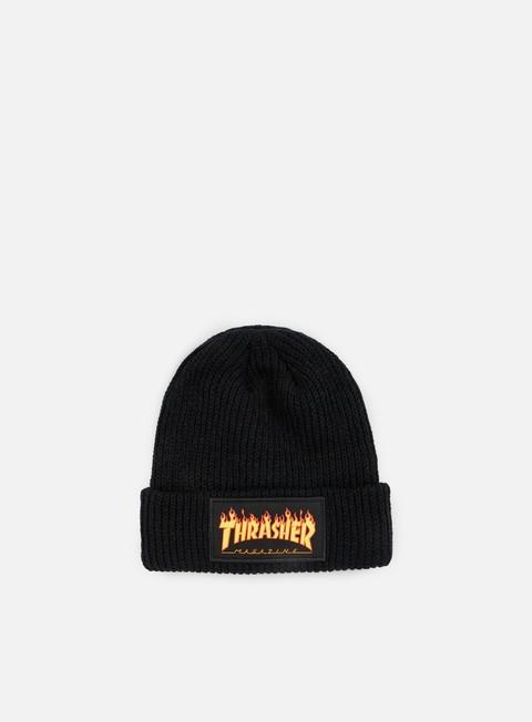 cappellini thrasher flame beanie black