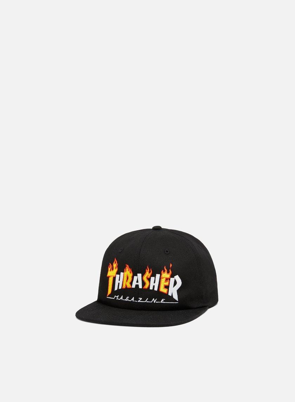 21b06838570 THRASHER Flame Mag Snapback € 34 Snapback Caps