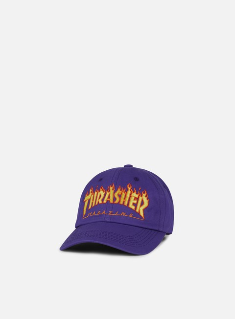cappellini thrasher flame old timer hat purple