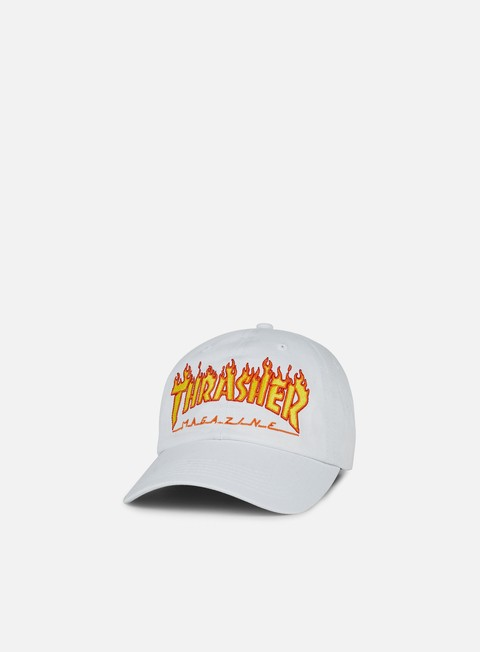 Curved Brim Caps Thrasher Flame Old Timer Hat