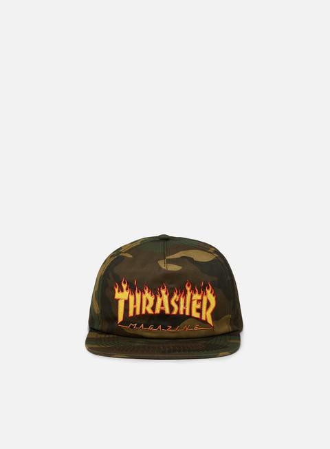Snapback Caps Thrasher Flame Snapback