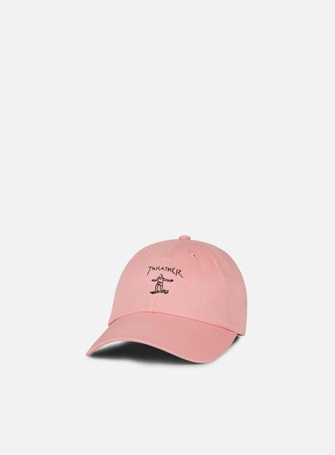 cappellini thrasher gonz old timer hat pink