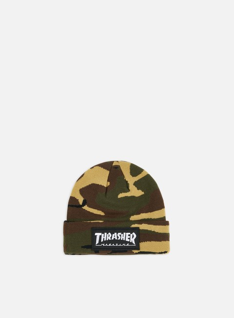 Outlet e Saldi Cuffie Thrasher Logo Patch Beanie