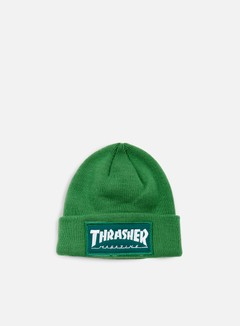 Thrasher - Patch Beanie, Green 1