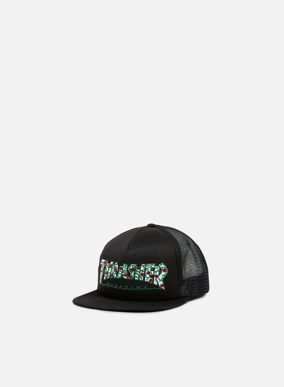 Thrasher Roses Trucker Cap