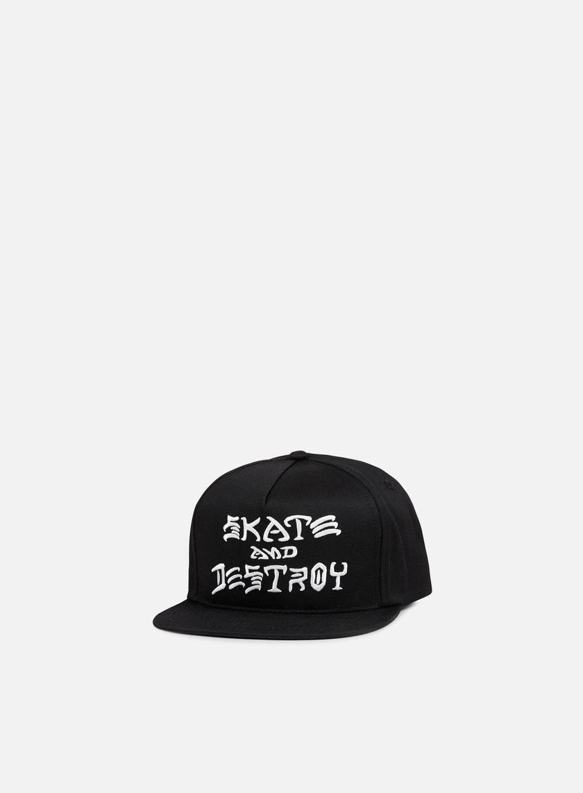 Thrasher - Skate And Destroy Snapback, Black