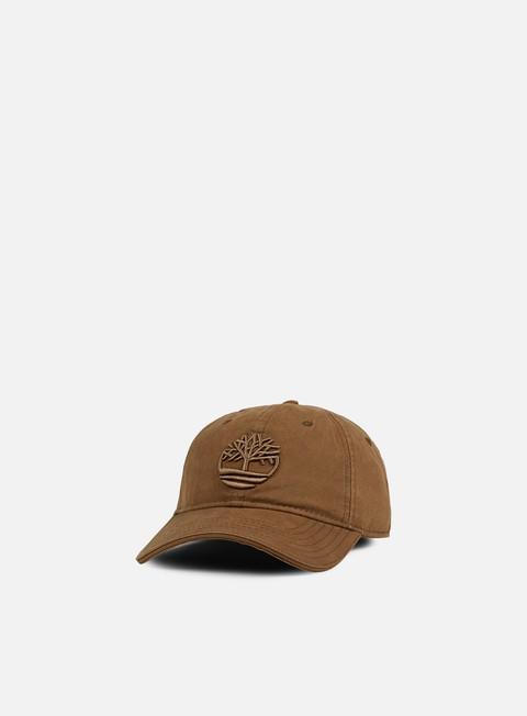 Cappellini Visiera Curva Timberland Cotton Canvas Cap