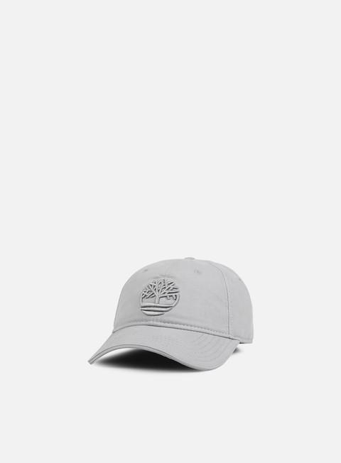 Curved Brim Caps Timberland Cotton Canvas Cap