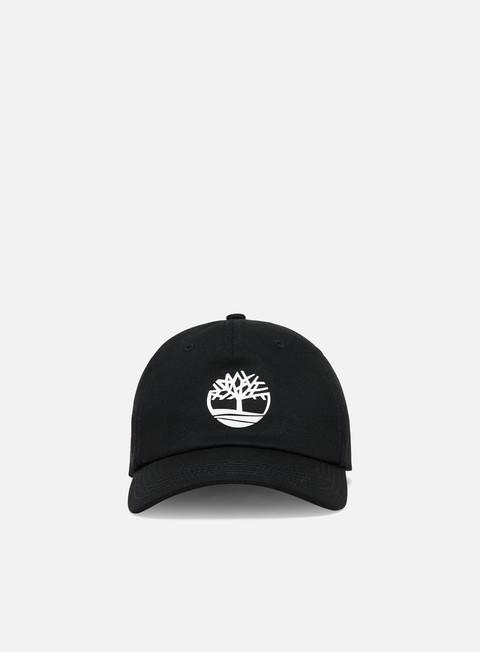 Outlet e Saldi Cappellini con visiera Timberland Rubberized Logo Baseball Cap