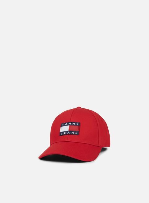 Cappellini Visiera Curva Tommy Hilfiger TJ 90s Baseball Cap