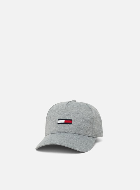 Sale Outlet Curved Brim Caps Tommy Hilfiger TJ Flag Jersey Cap