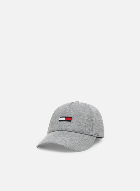 Curved Brim Caps Tommy Hilfiger TJ Flag Jersey Cap