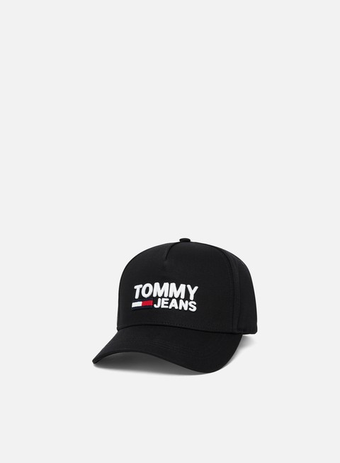 Sale Outlet Curved Brim Caps Tommy Hilfiger TJ Logo Cap