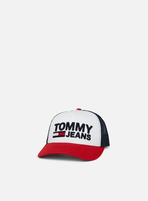 Sale Outlet Curved Brim Caps Tommy Hilfiger TJ Trucker Cap